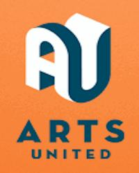poster for Arts United Donations